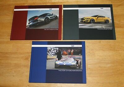 (NEW) 2018 & 2017 Ford Mustang Shelby GT 350 Books, Ceramic Mug & Water Bottle