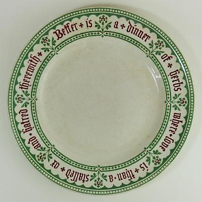 A.w.n Pugin Mintons Pottery Dinner Plate 1844​