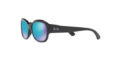 Ray Ban Sunglasses RB4282CH 601/A1 55MM Black Blue Polarized Chromance Jackie O