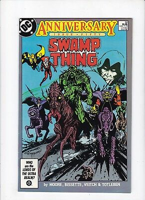 Swamp Thing 50 1st Appearance of Justice League Dark FN Comic Book Lot of 1