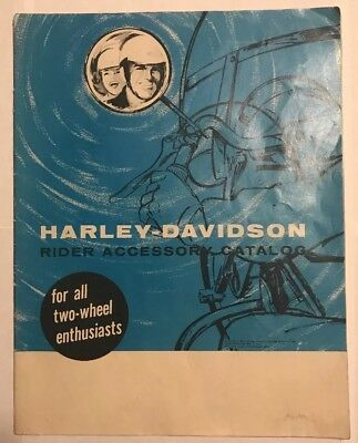 Vintage 1963 Harley-Davidson Accessory & Parts Catalog Extremely Rare Book CHEAP