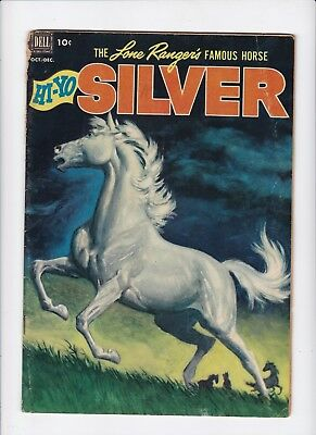 Lone Ranger's Famous Horse Hi-Yo Silver 4 Vintage Comics Comic Book Lot of 1