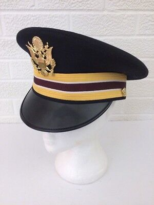 Kingform Cap Military Style With Badge Size 7 1/8