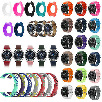 For Samsung Gear S3 Frontier/Classic Silicone Leather Watch Band Accessories