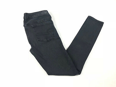 American Eagle Outfitters Jeans 6 Black Super Stretch Jeggings - Free Gift
