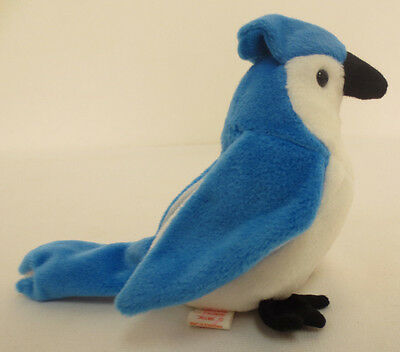 Beanie Baby Rocket Blue Jay 1997 Babies New Collection Rare Collectors Ty Cute
