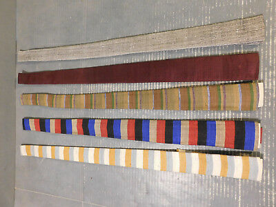 Vintage Lot 5 Neck Ties - Gay Product 1950s Narrow Silk Necktie