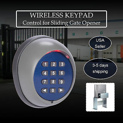 Wireless keypad for Sliding Gate Opener Automatic Operator Home Security System