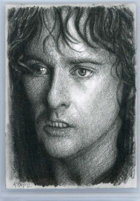 LOTR Lord of the Rings - PSC Sketch Card - ANDREW FRY - Pippin