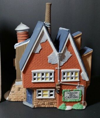 Department 56 The New England Village Series Yankee Jud Bell Casting