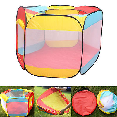 Folding Portable Playpen Baby Play Yard With Travel Bag Indoor Outdoor Safety/