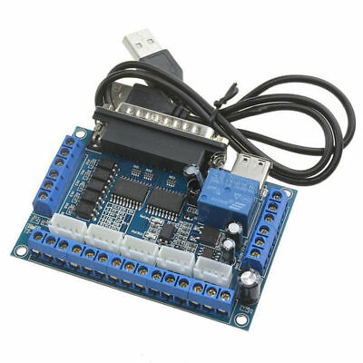 CNC MACH3 5Axis Breakout Board USB Control Interfce for Stepper Motor Driver