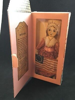 Hallmark Bicentennial Historical Collection Stuffed Doll Betsy Ross in Box
