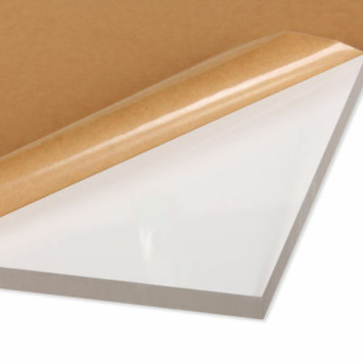 "1"" Thick Clear Acrylic Sheet Plexiglass 10"" x 10"" Acrylic AZM Clearance Sale"