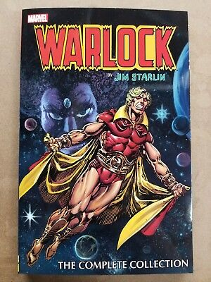 Warlock By Jim Starlin Tpb Graphic Novel New  Marvel Comics Thanos $34.99 Msrp