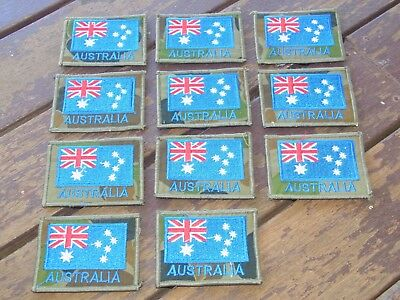Australian military flag patch