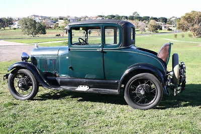 Ford 1929 A Model Coupe