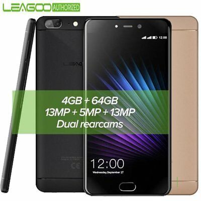 5.5'' Leagoo T5 4GB+64GB 4G Smartphone Android 7.0 Octa Core 2x13MP 2*SIM NOIR