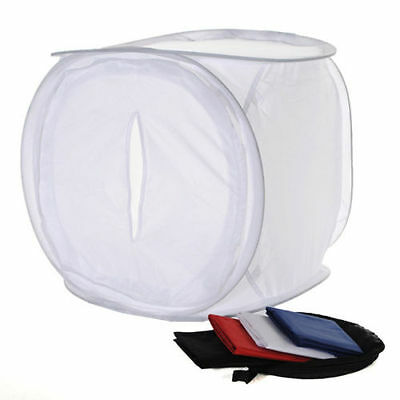 40x40cm Photo Studio Shooting Light Cube Box Tent+4Color Backdrops Brand New BT