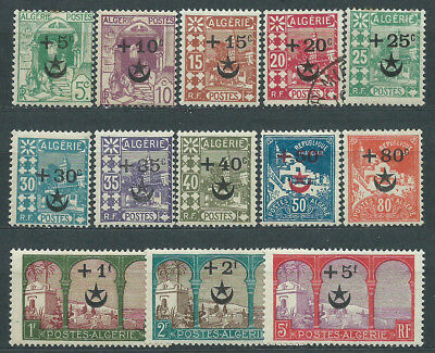 Algeria - Mail Yvert 58/70 Mh no 61 or used