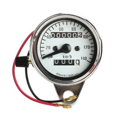 Motorcycle Mini Electronic Speedometer with Odometer Night Light N9K6