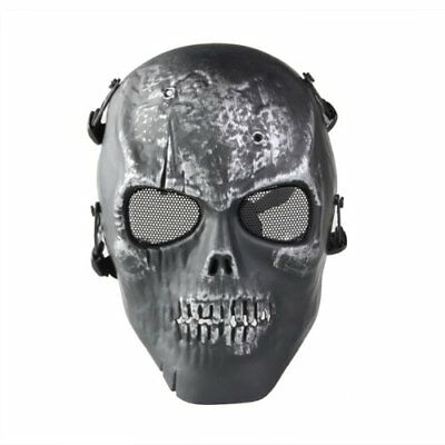 Cfly889 Skull Skeleton Airsoft Paintball Full Face Protect Mask J1X7