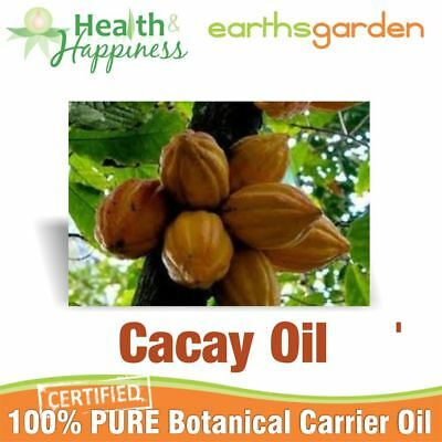 CACAY OIL ~ earthsgarden Certified 100% Pure Botanical Carrier Oil