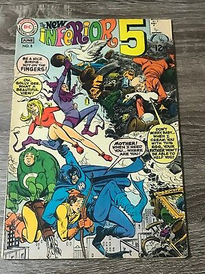 Dc Comics June #8 The New Inferior 5  Shows Wear