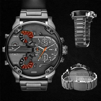 Top Brands Exquisite Hot Product Men's Fashion Luxury Watch Stainless Steel Spor