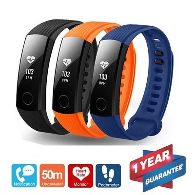 Huawei Honor Band 3 Smart Watch Pedometer Fitness Tracker Black Blue Orange