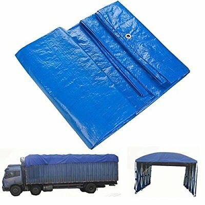 Tarpaulin Plastic Canopy Tarp Pvc Sheet Waterproof Heavy Duty Cover Tear Proof