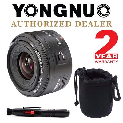 Yongnuo YN 35mm F2.0 Auto Focus AF MF Large Aperture Prime Lens for Canon UK