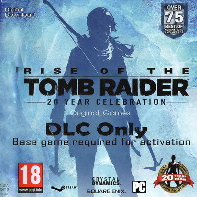 Rise of the Tomb Raider 20 Year Celebration Pack Steam Key DLC PC [No Base Game]