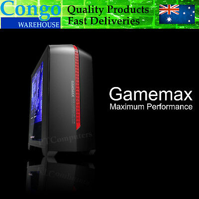 Gamemax Gaming Desktop PC Fashion DESIGN Computer Micro/Mid ATX Case