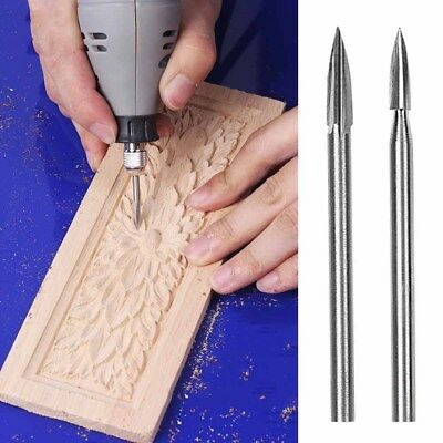 Woodworking Electric Handle Wood Carving Drill Steel Knife Puncher