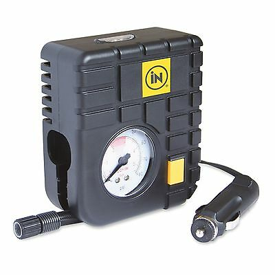 iN CAR® Tyre Inflator Air Tool 12v Top of the Range Travel Essentials - 5097