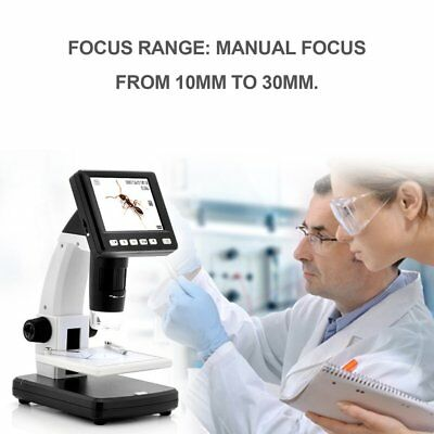 "3.5""LCD 500X Desktop Digital MicroScope 5MP HD USB TV Camera Video Recorder XC"