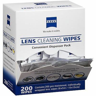 Zeiss Lens Wipes Glasses Phone Camera Tablets Professional Cleaning Smear Free