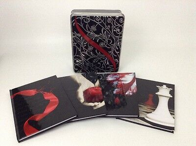 The Twilight Saga Collector Tin Set of 4 Journals w Movie Quotes Hardcover Book