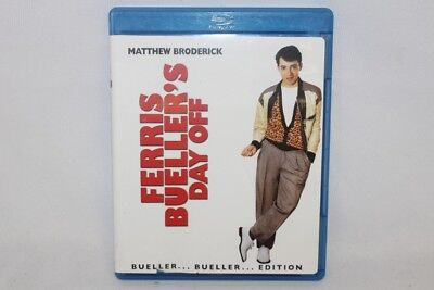 Ferris Bueller's Day Off Matthew Broderick Bueller Edition Blu-ray Disc