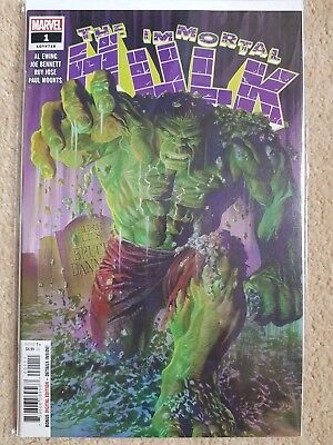 The Immortal Hulk  #1 Marvel Comics N/M Ewing/Bennett