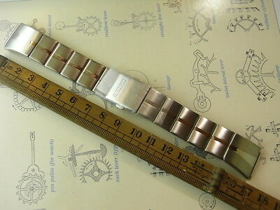 New Old Stock Seiko 71S9-G.c 16Mm Solid Steel Mens Watch Band