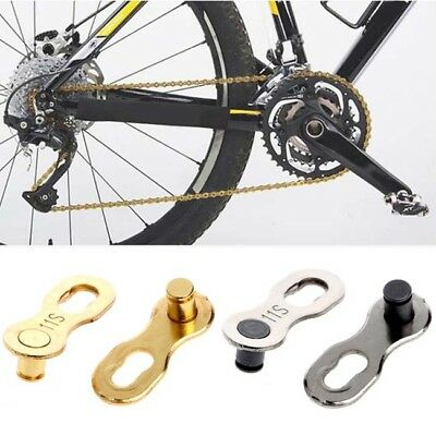2pcs Speed Bike Chain Silver/Gold Links Road and Mountain Bicycle Z