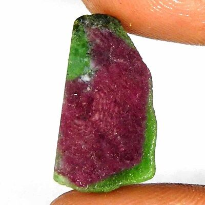 Natural Quality Red Green Ruby Zoisite Rough Loose Gemstone