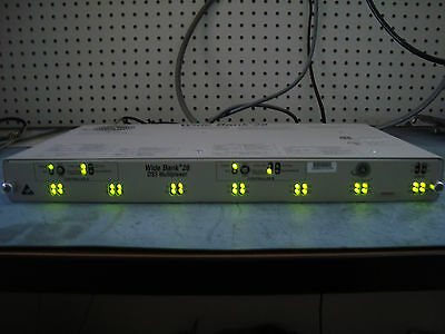 New in the Box Carrier Access Wide Bank 28 DS3 Multiplexer widebank 930-0073