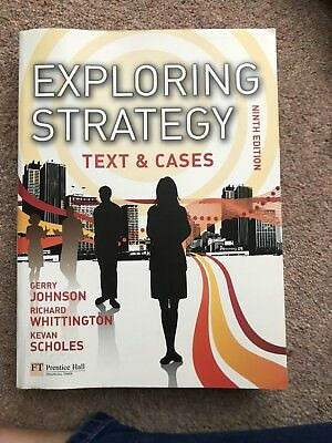 Exploring Strategy Text & Cases plus MyStrategyLab and The Strategy...