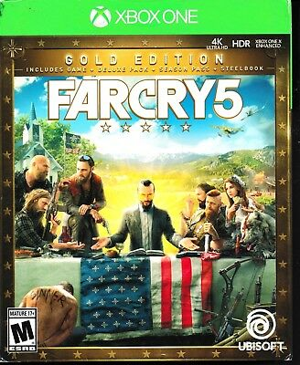 Far Cry 5: Gold Edition (Microsoft Xbox One, 2018)  *Factory Sealed*