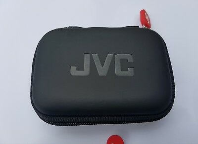 JVC HPCASE Compact Carry Case for Earphones Sd Cards USB Sticks Ect Soft Touch