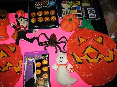Halloween Makeup - Decorations - Props - Bags And More - Lot