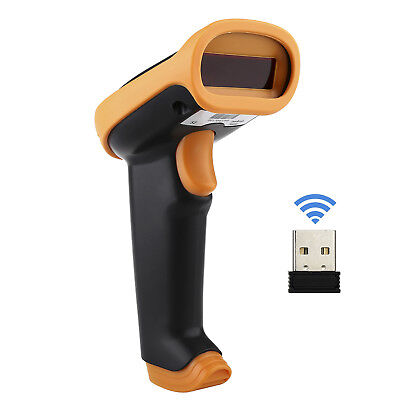 2.4G USB Wired& Wireless Cordless Portable Laser Barcode Scanner Reader For Win